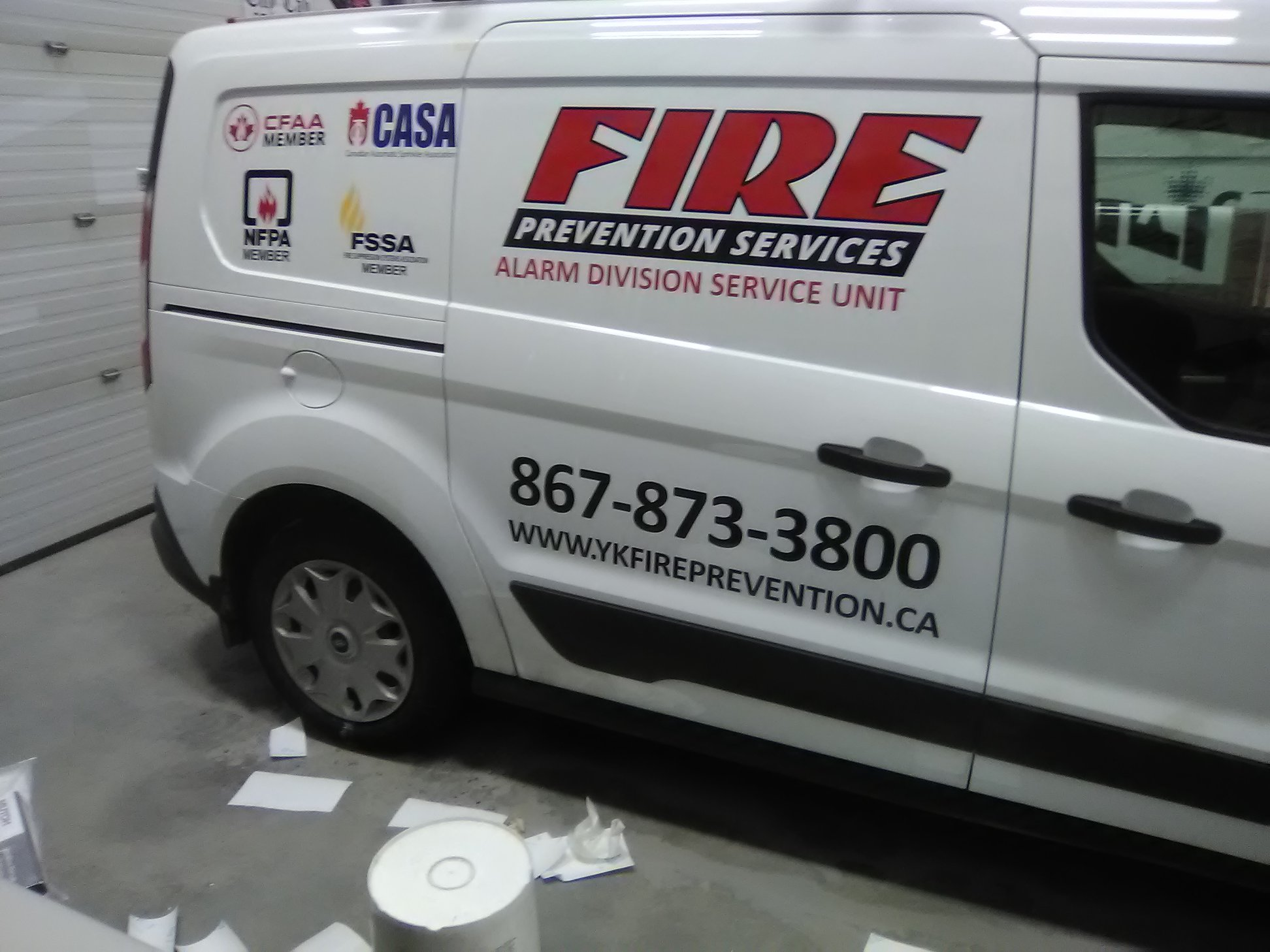 New Fire Prevention Services Fleet Decals