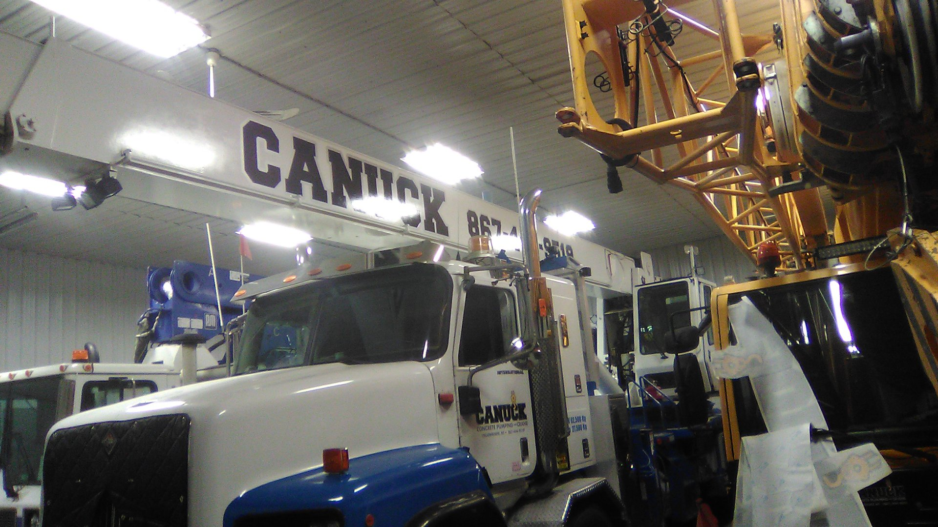 Canuck Pumping Commercial Truck Decals