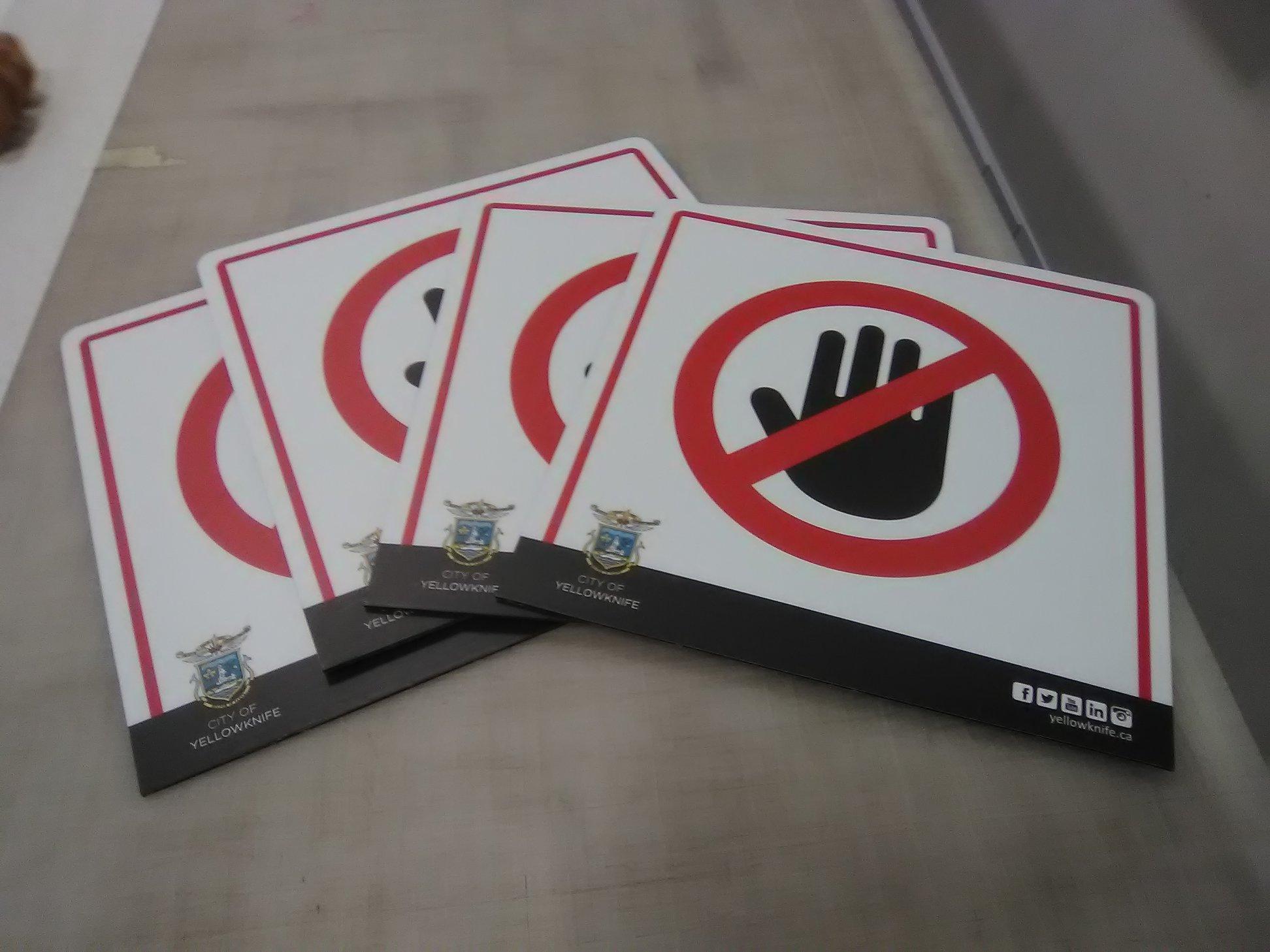 City of Yellowknife Prohibited Signage