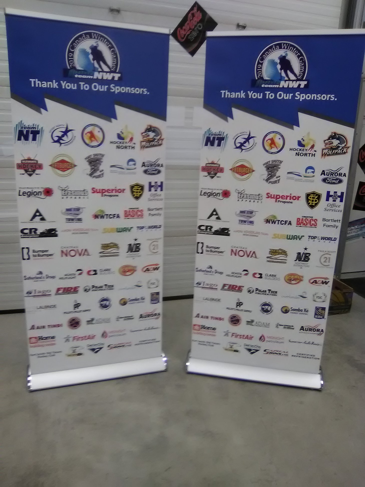 Sponsorship Banners Stands