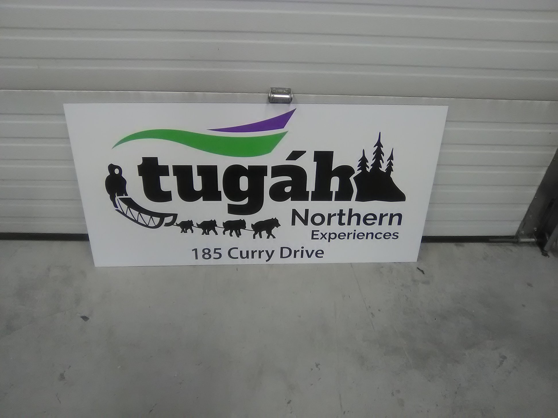 Tugah Northern Experiences Exterior Business Signage Building