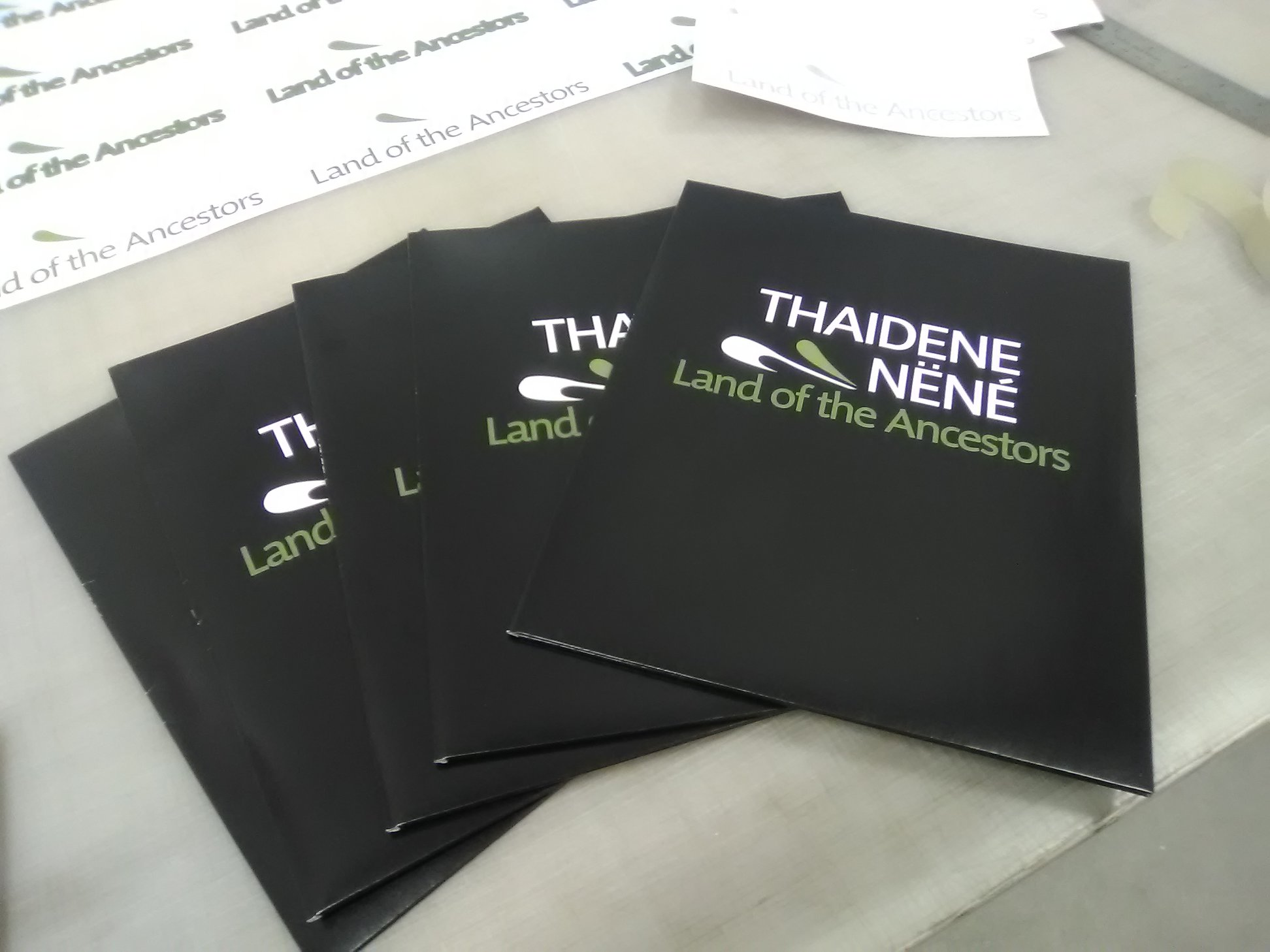 Corporate Printed Presentation Folders