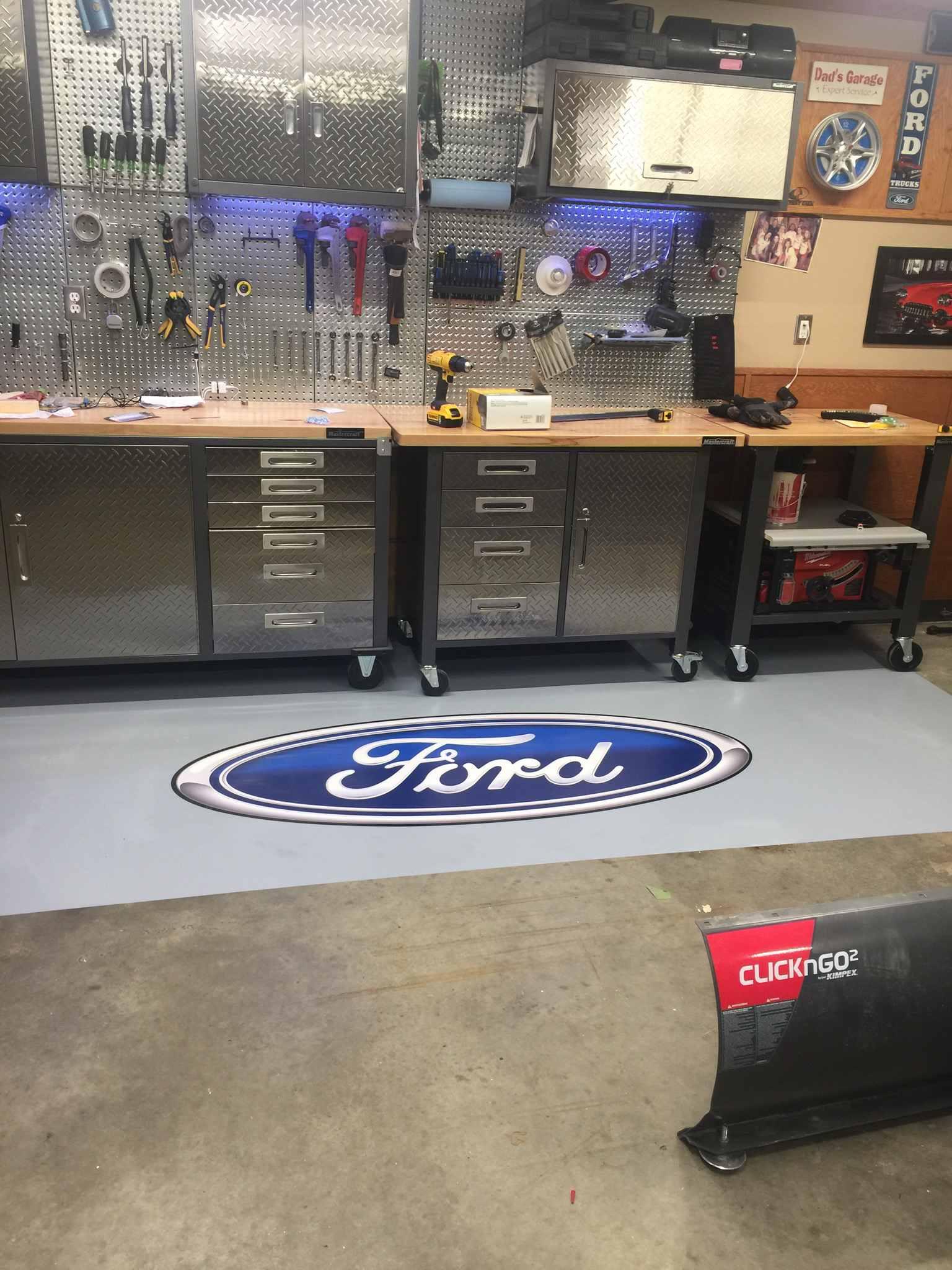 Branding Floor Decal for Shop