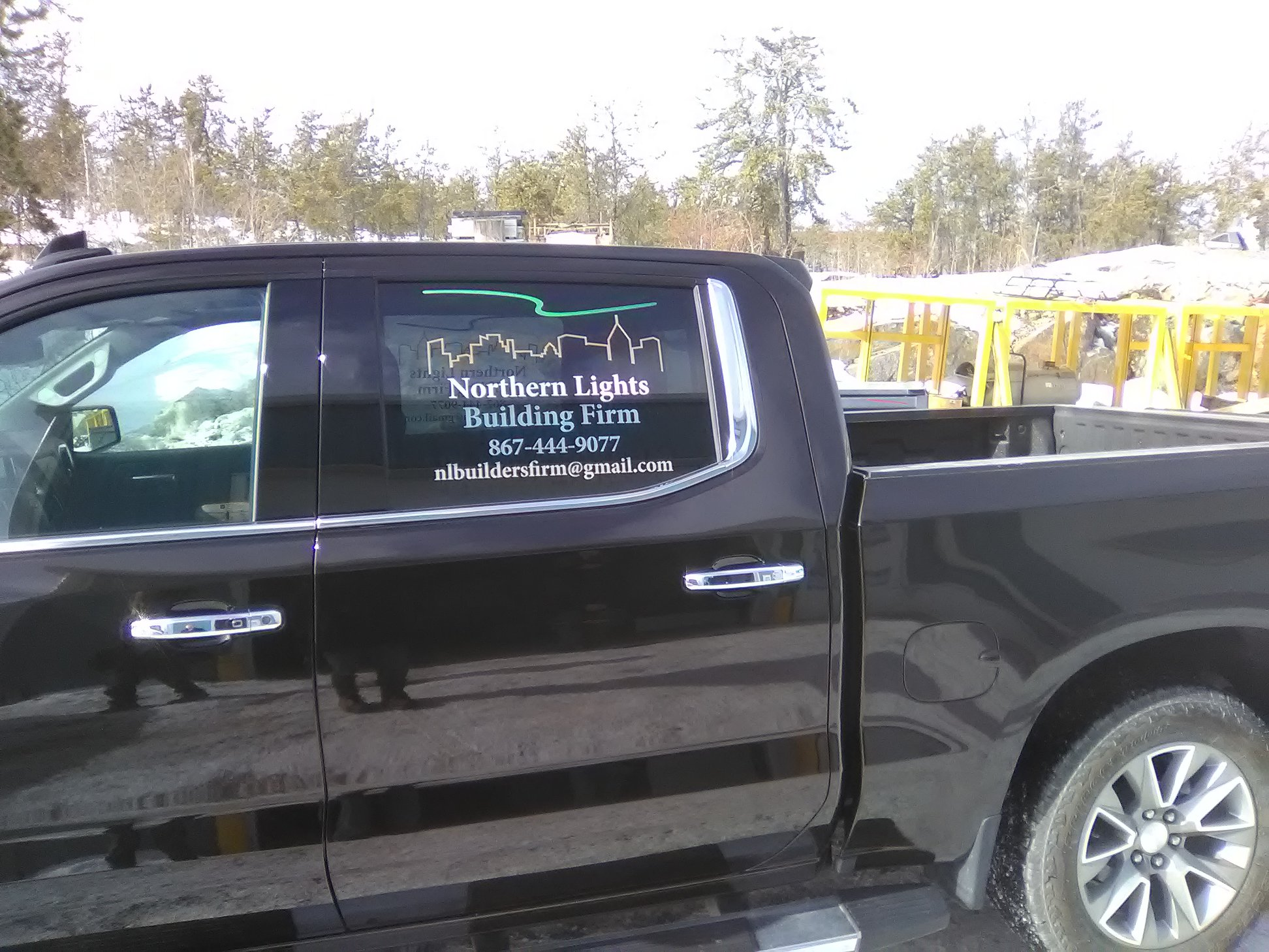 Custom Corporate Vehicle Decals