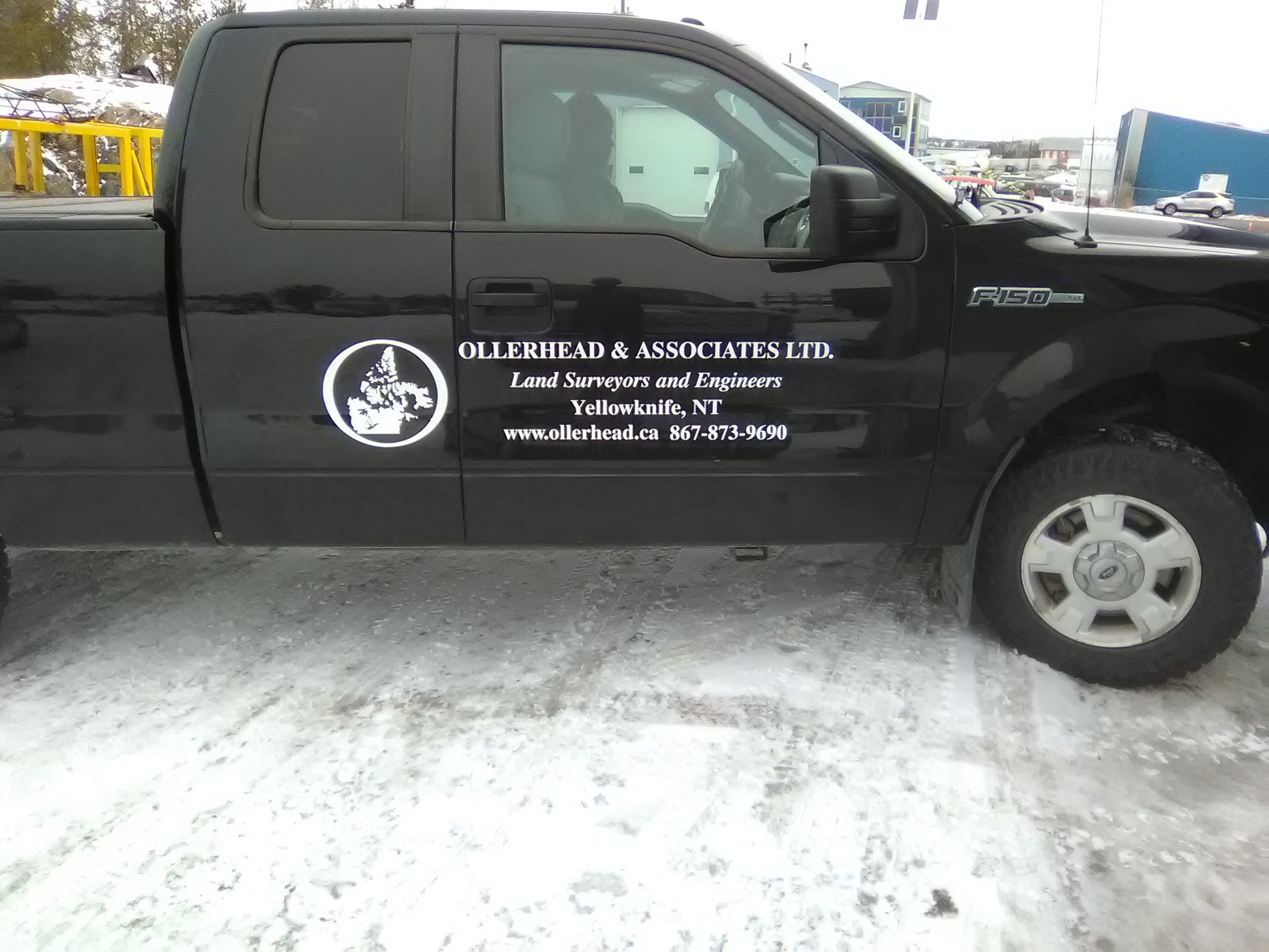Custom Corporate Truck Decals