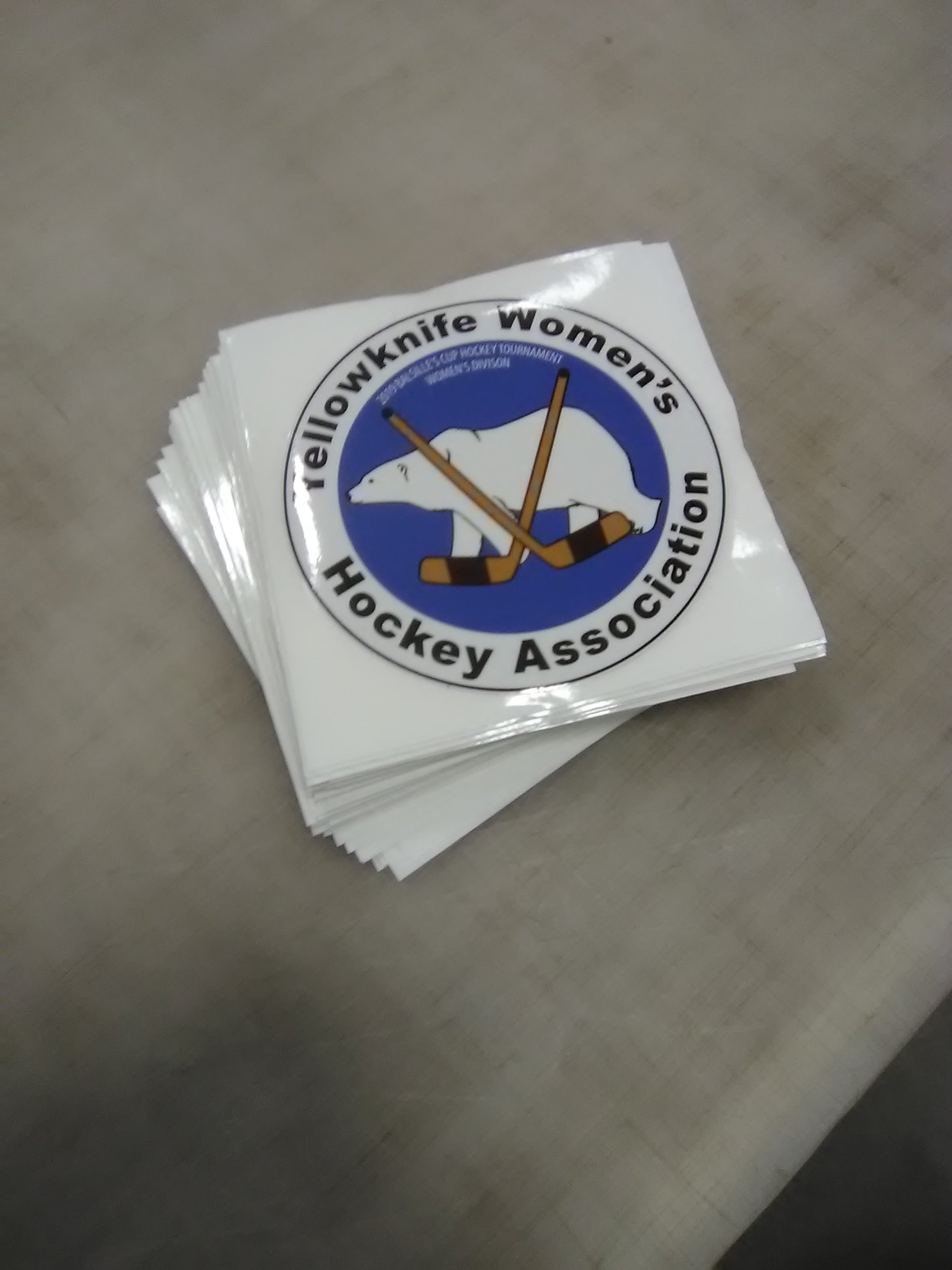 Association Custom Stickers