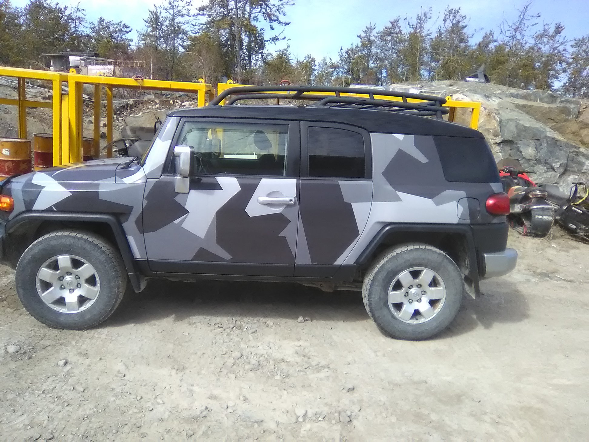 Custom Vehicle Car Wrap
