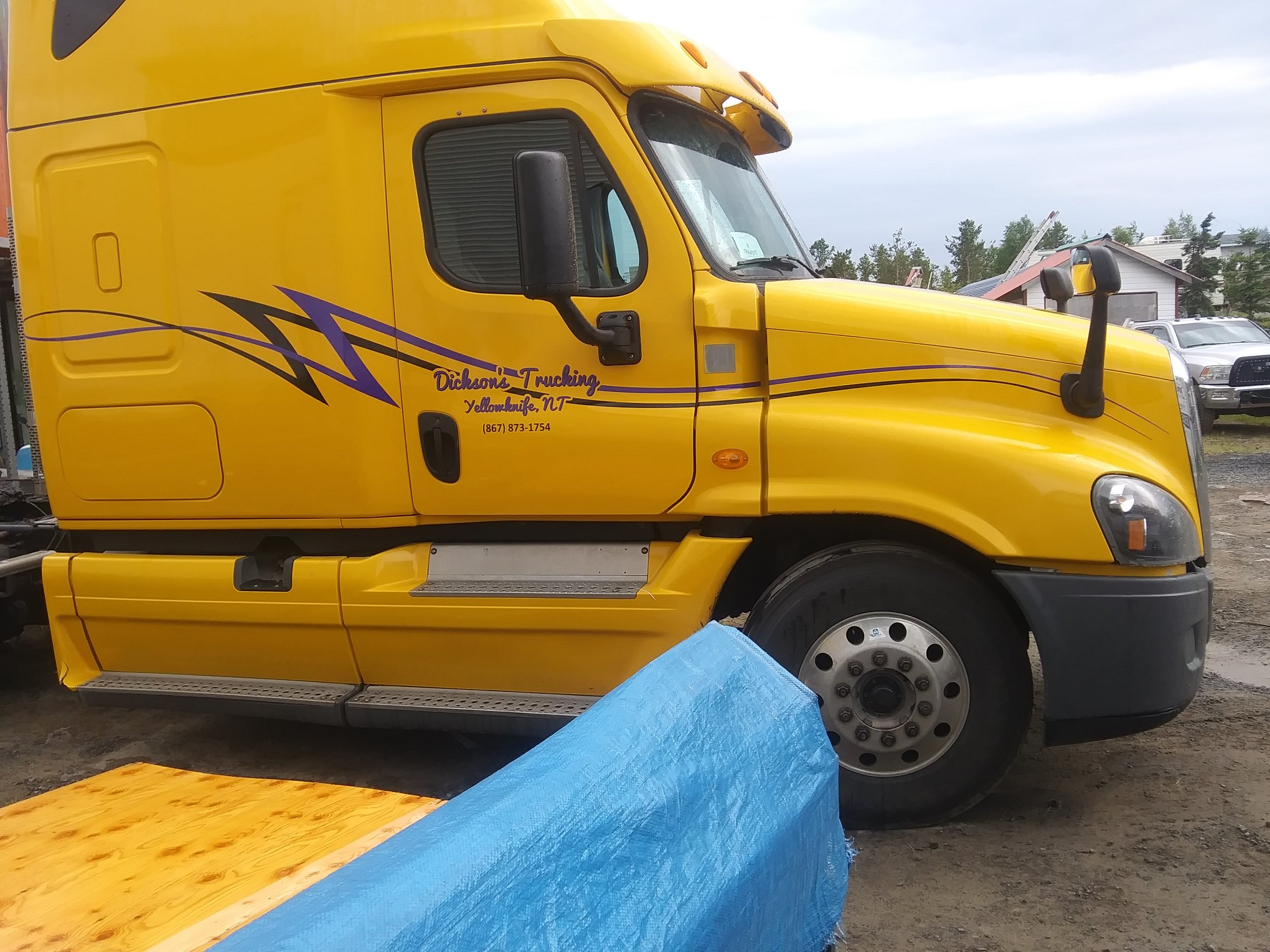 Custom Commercial Truck Decals