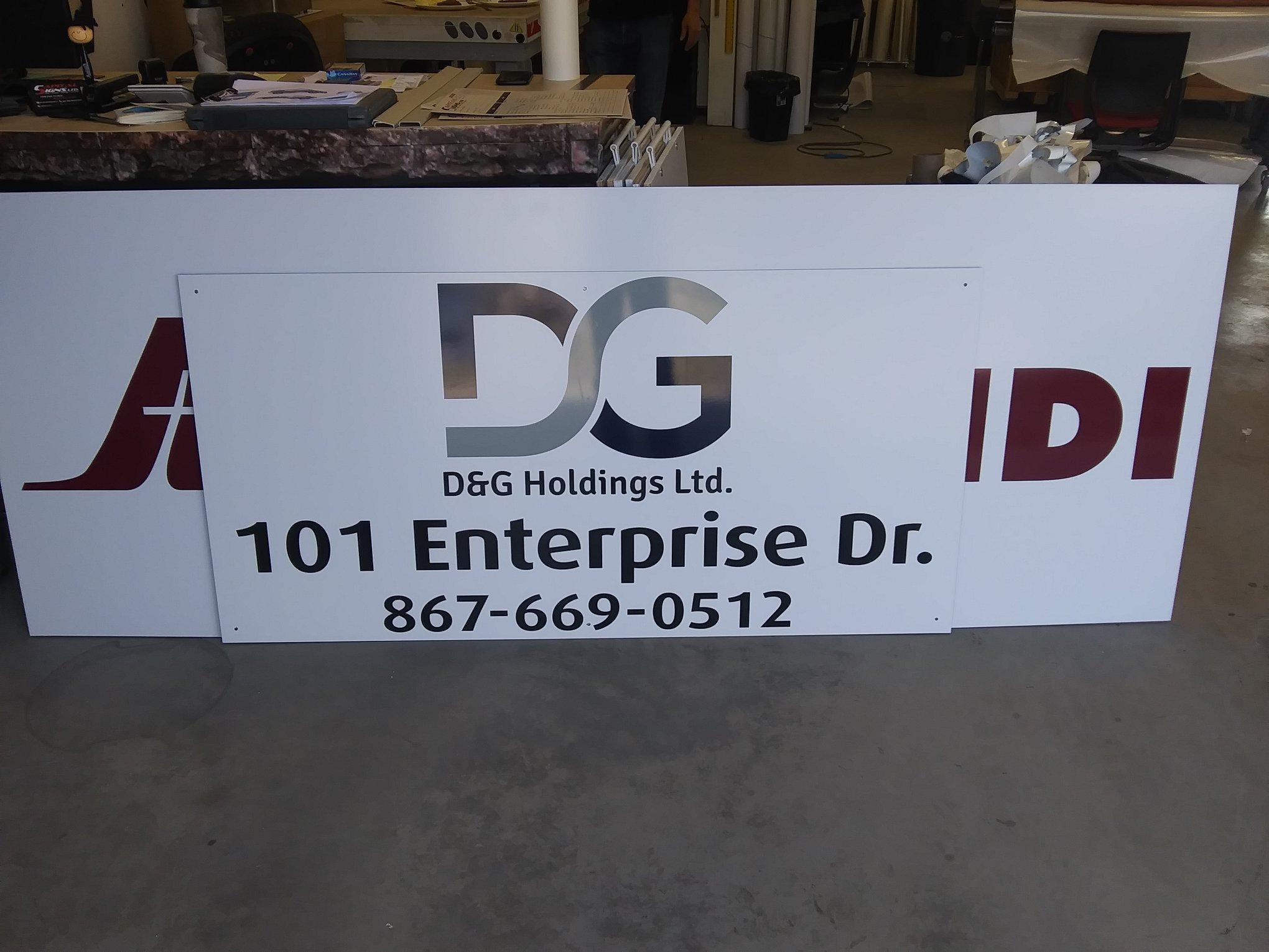 Custom Exterior Signage