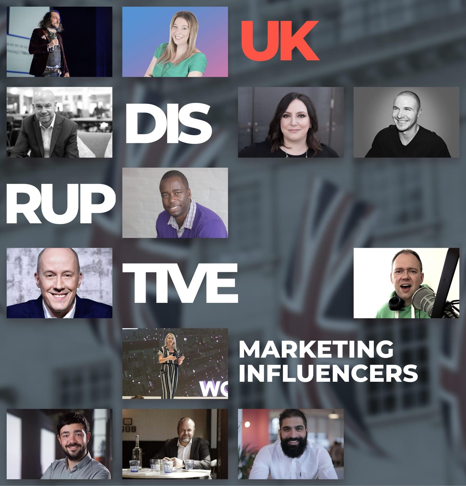 disruptive influencers illustration