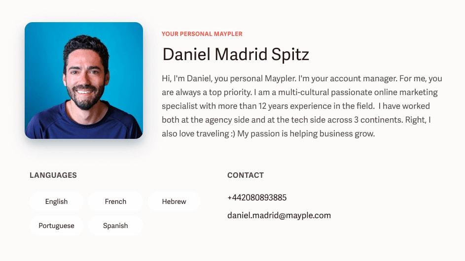 Mayple profile image