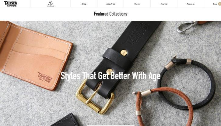 tanner goods styles mens wear