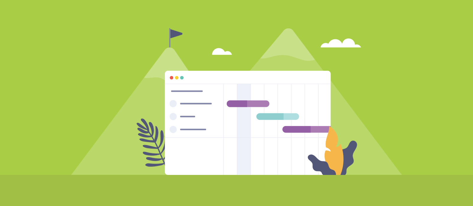 Agile Project Planning Steps agile project management methodology with gantt charts