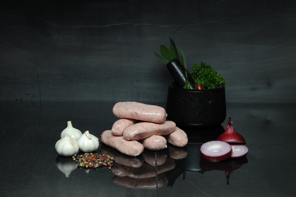 Cumberland Sausages 1.5kg Tray