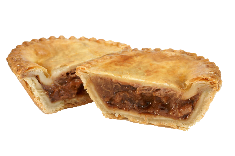 Beef & Onion Pies