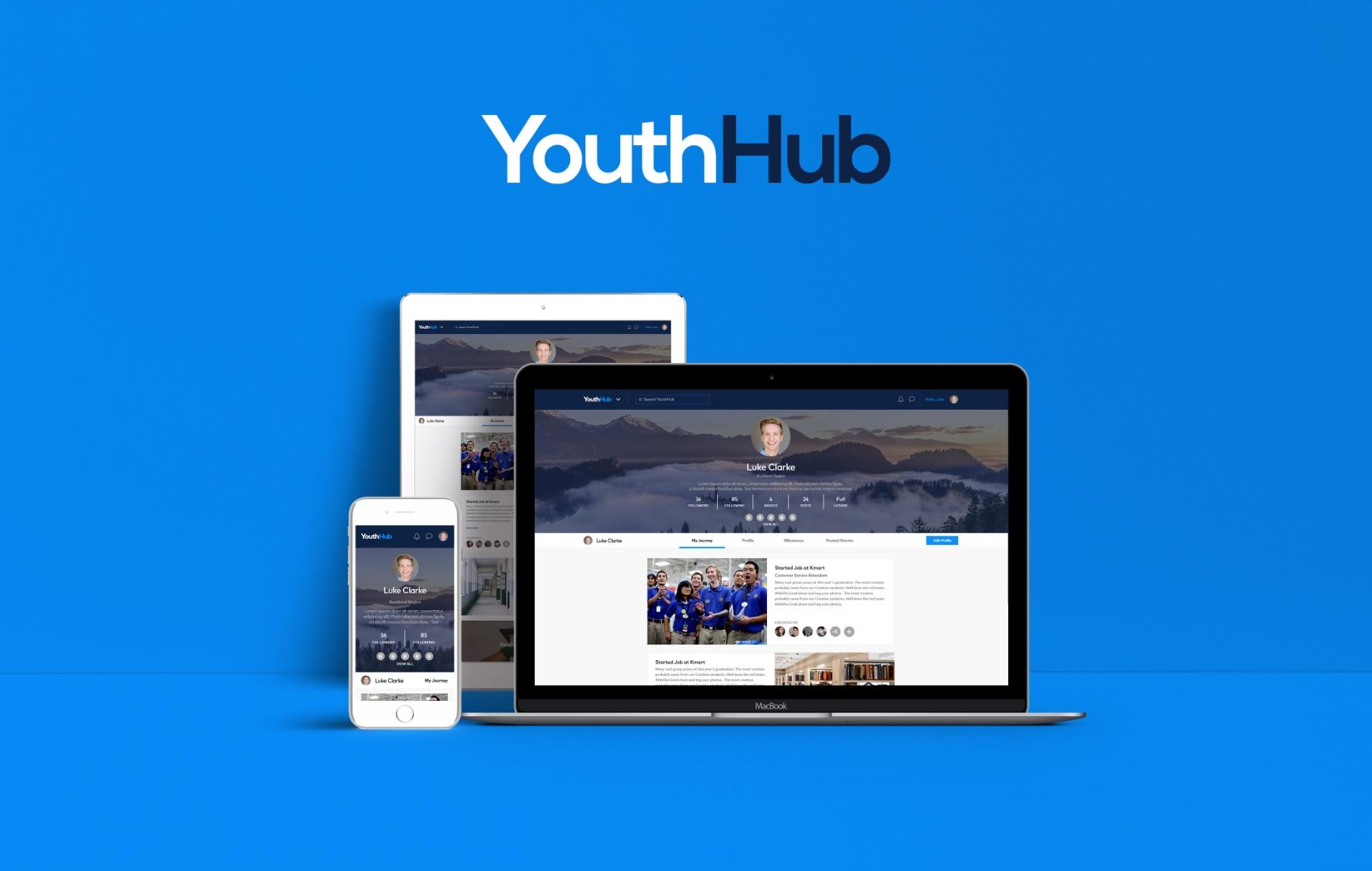 YouthHub - UI/UX Designer