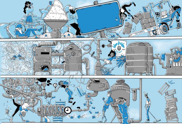 Blue Fridge Brewery - Designer