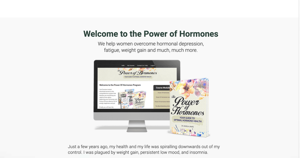 Power of Hormones - Founder, Marketer, Project Manager, Copywriter, Product Creation, Email Marketing, Social Media Management, Facebook Advertising