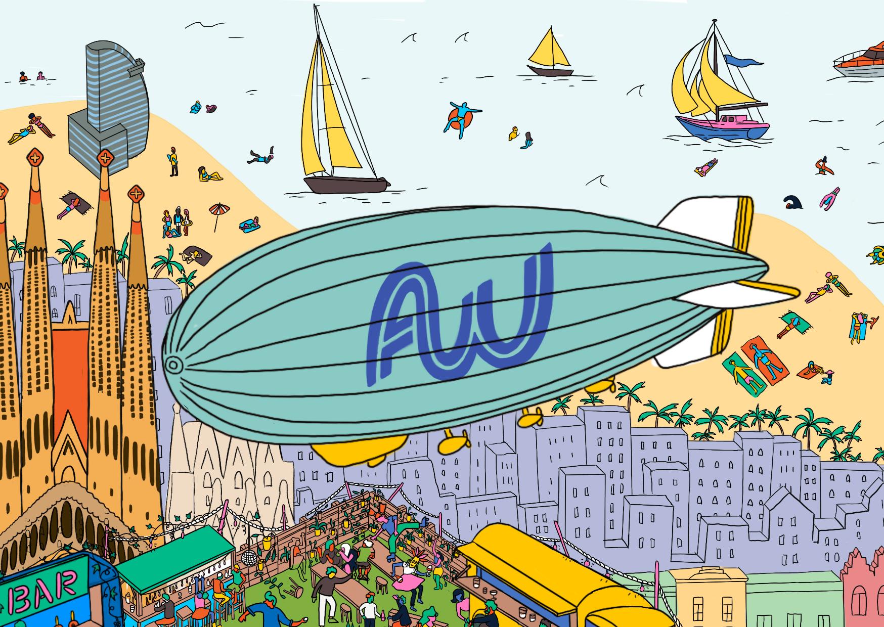 Affiliate World Conferences - Illustrator