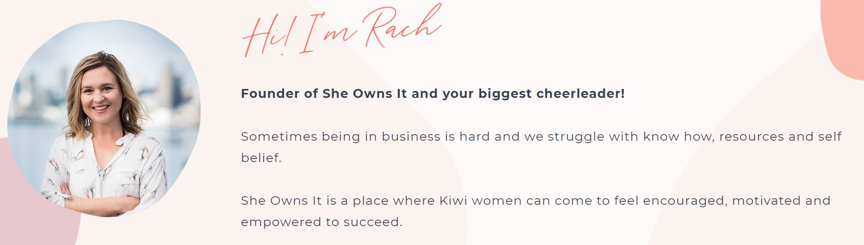 She Owns It NZ - Content Manager