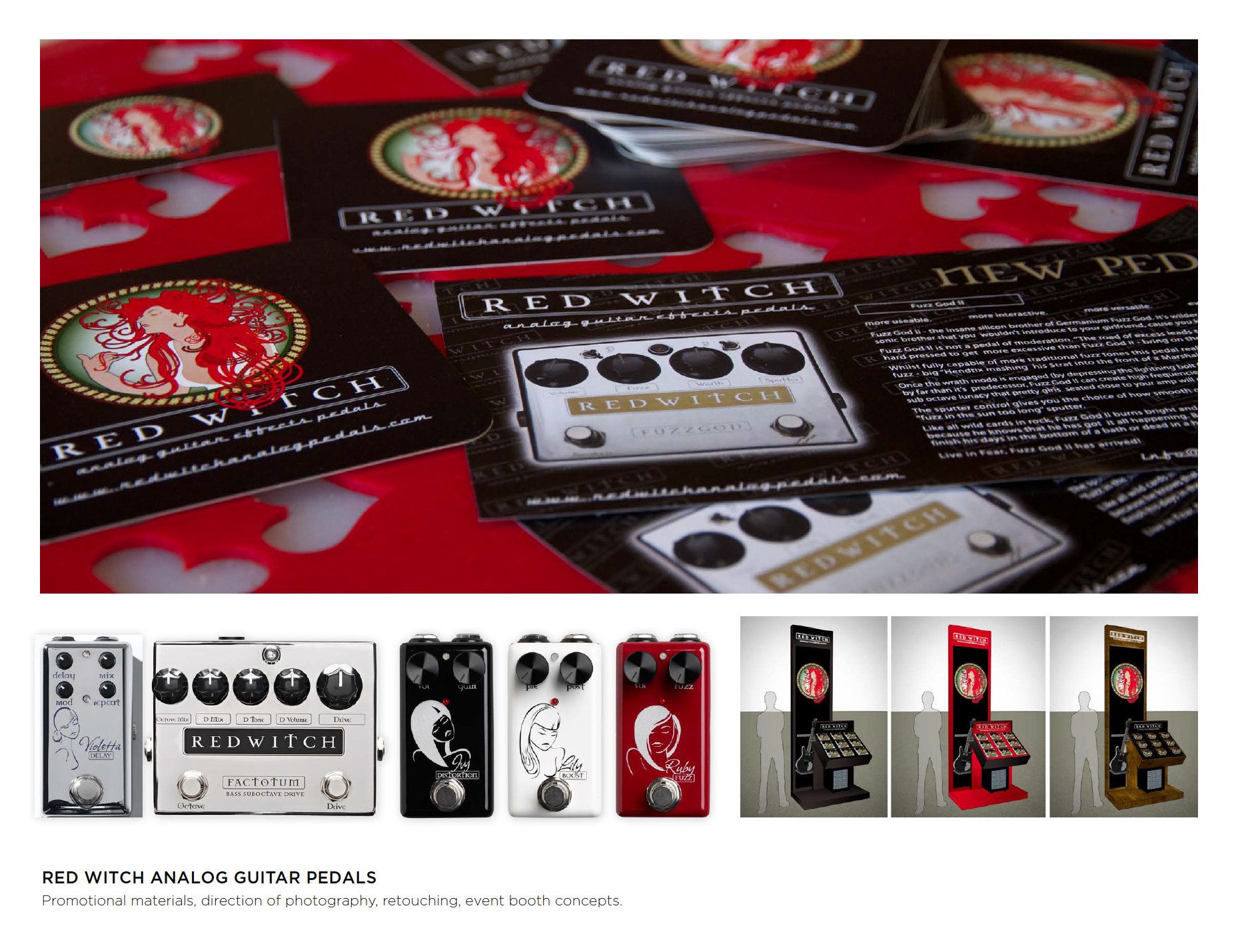 Red Witch Analog Guitar Pedals  - Klara Sadlova