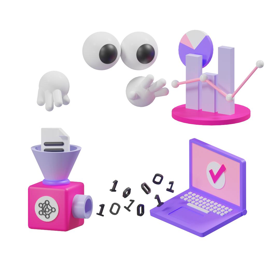 Connect.ml  - 3D illustrator