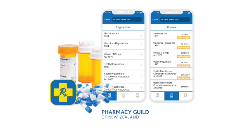 Pharmacy Guild of New Zealand - Design & Development