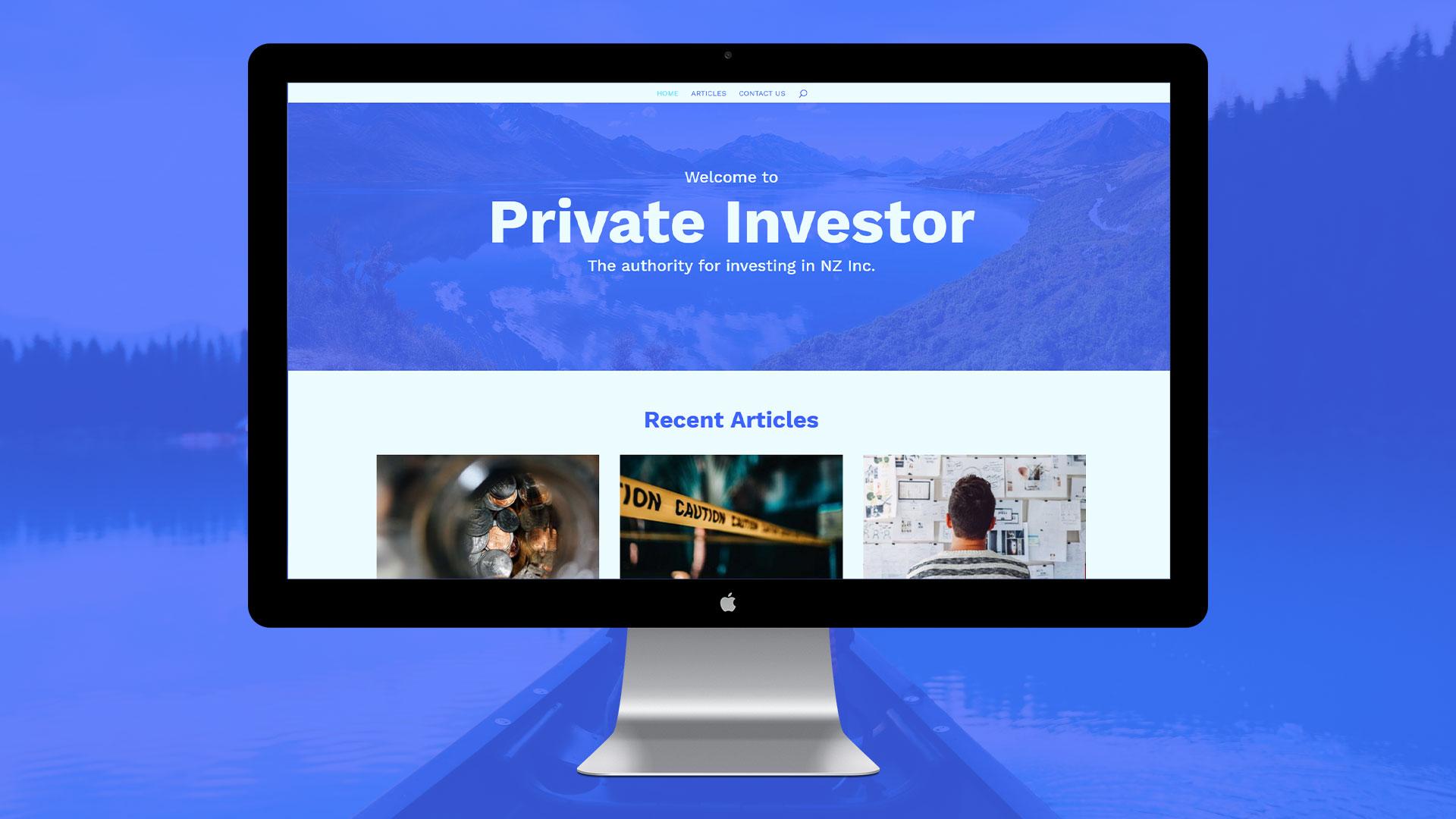 Armillary Private Capital - Web Designer