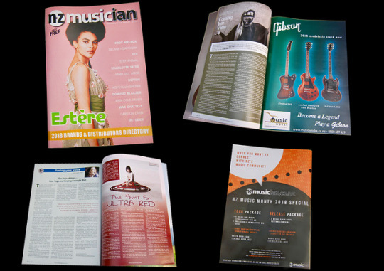 NZ Musician Magazine - Graphic Designer