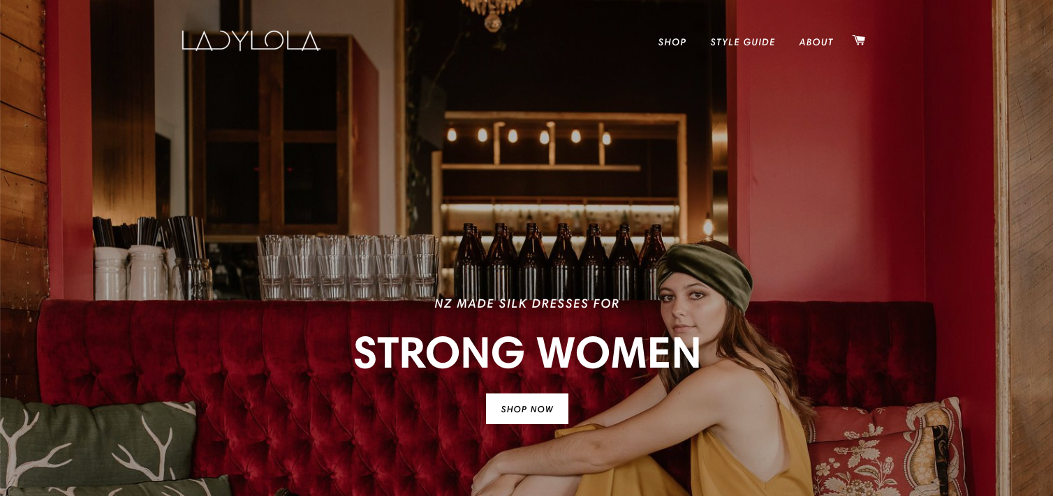 Lady Lola - Graphic Designer + Shopify Partner