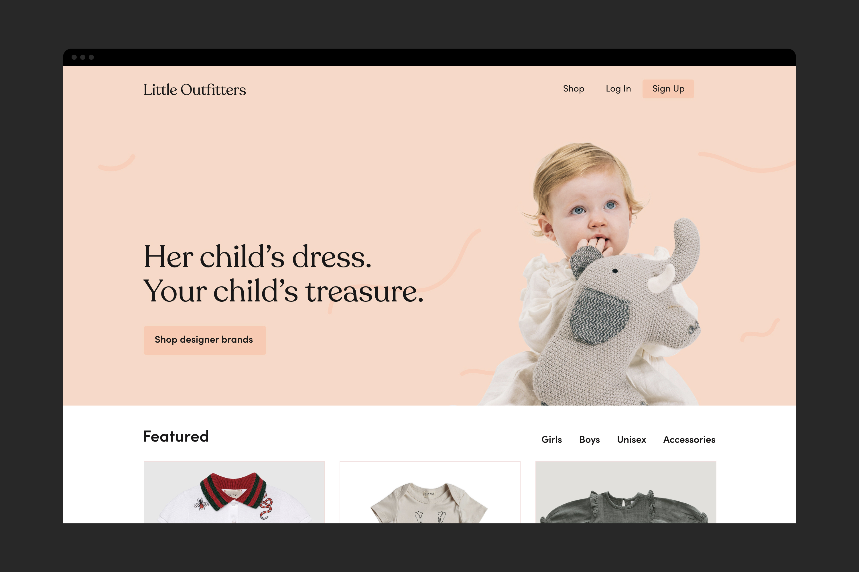 Little Outfitters - Design + Development
