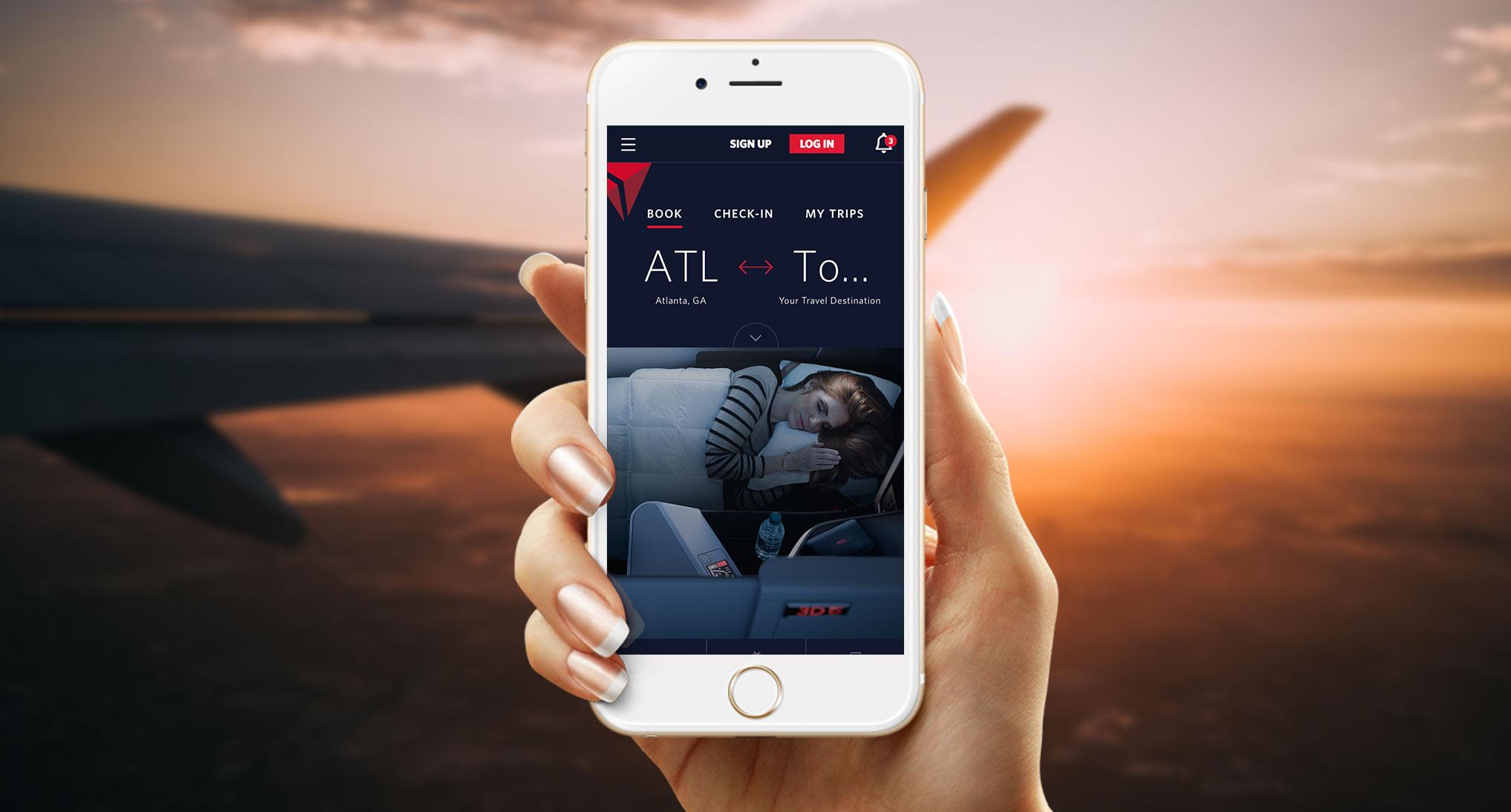 AKQA / Delta | Virgin Atlantic - UI Designer