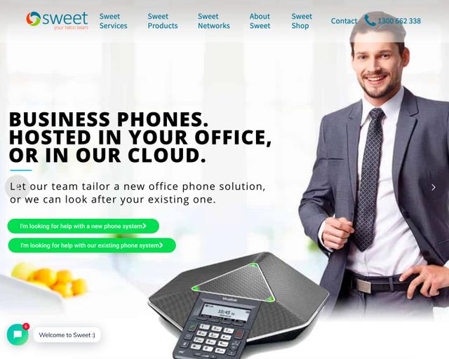 Sweet Telecom - Phil Cox