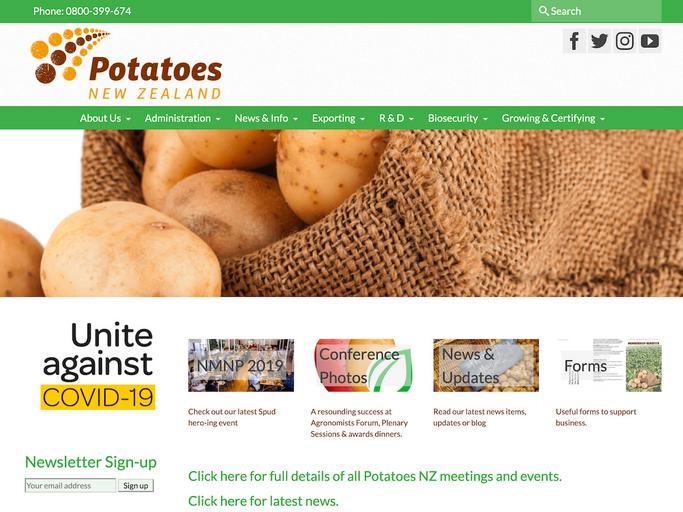 Potatoes NZ - Phil Cox