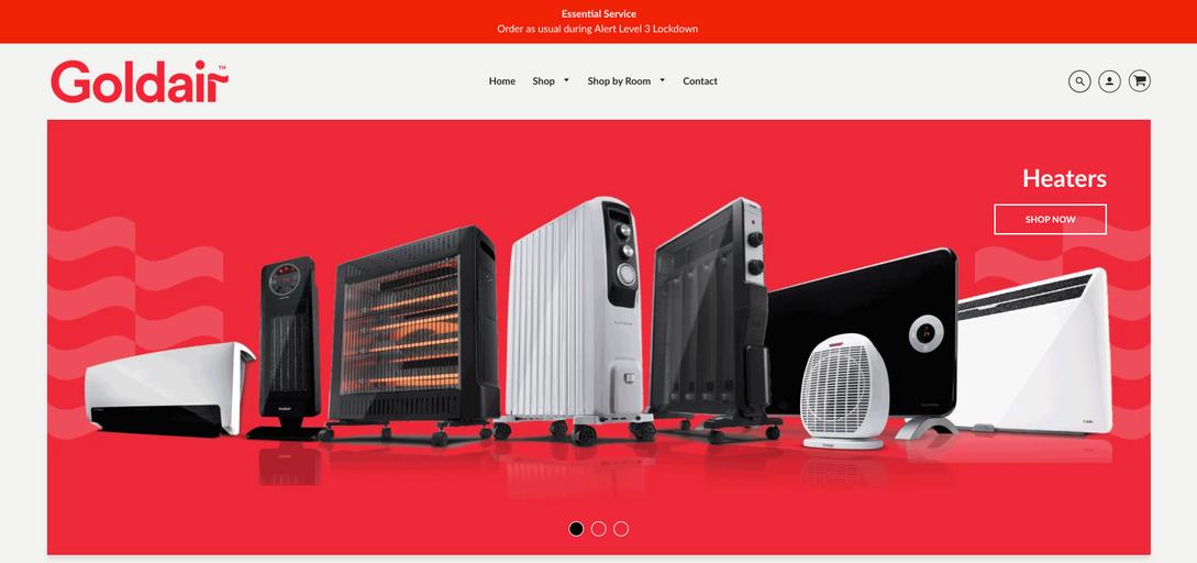 Goldair NZ - Web Designer