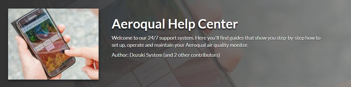 Aeroqual - Content migration specialist