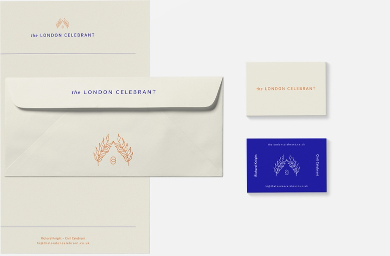The London Celebrant - Graphic Designer