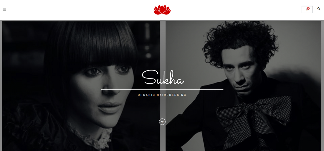 Sukha Organic Hairdressing eCommerce Store - Tracy Kruger