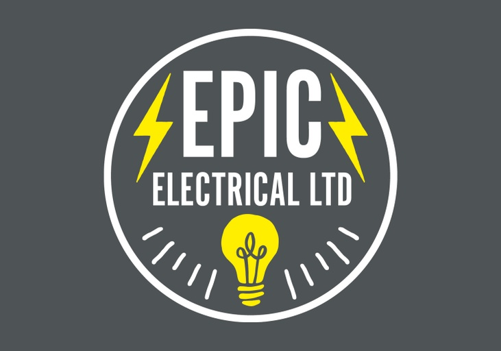 Epic Electrical Brand Identity - Graphic Designer