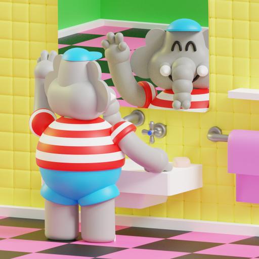 JUMBO'S HAND WASH - Art Direction / 3D Modelling / 3D Illustration / Animation