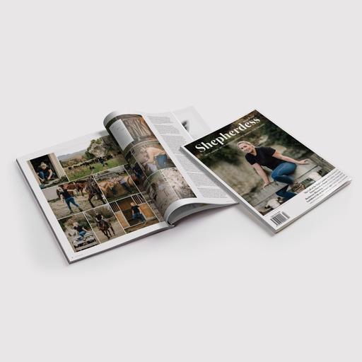 Shepherdess Magazine - Graphic Designer