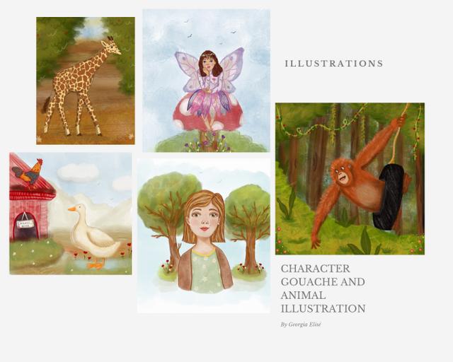 Children's Illustrations Story - Georgia  Spence