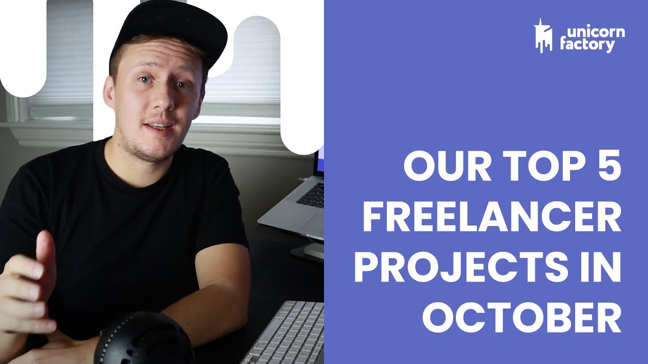 Our Top 5 Freelancer Projects In October