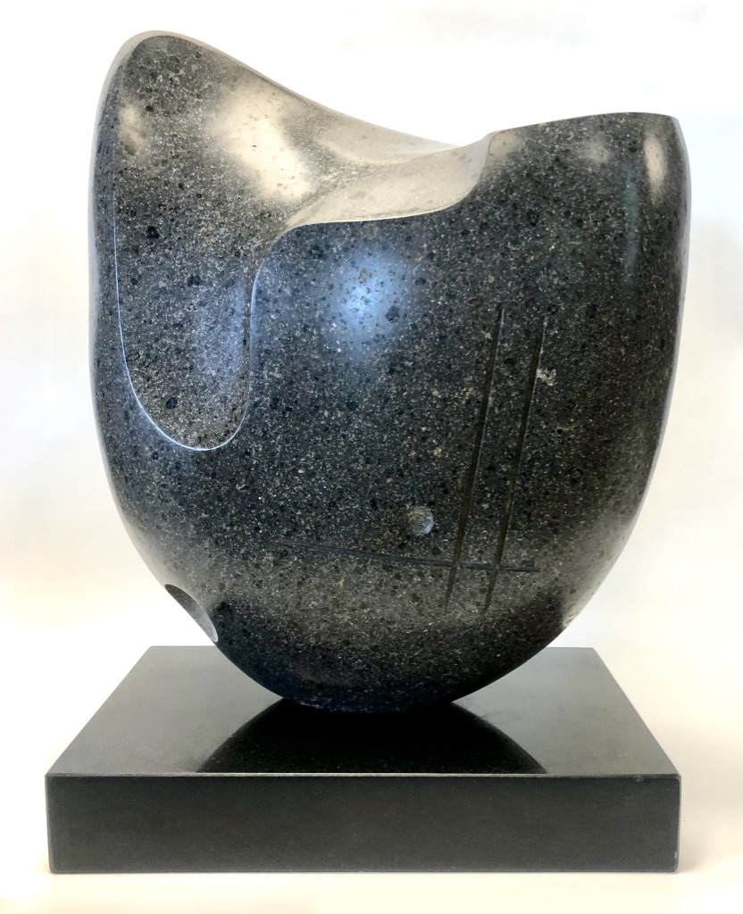 """Seven"" NW Basalt on Granite 18"" H x 15"" W x 8"" D $3500"