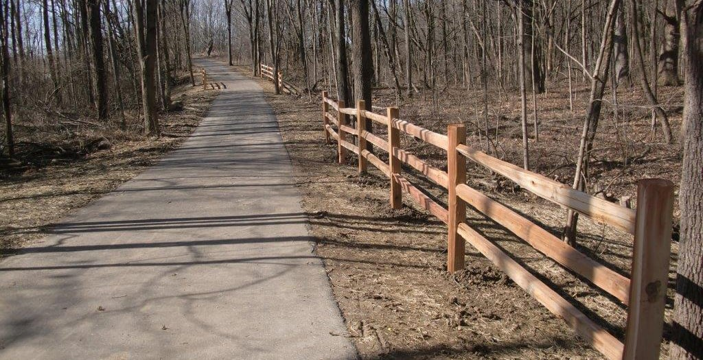 Trail extension of the Wilbur Wright Trail