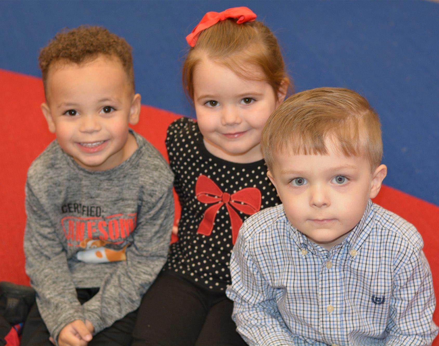Preschool students at play