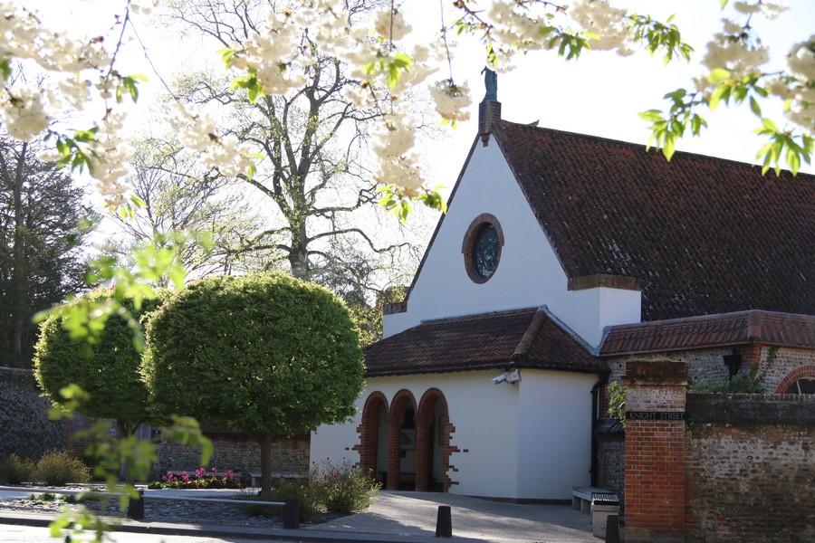 Tessa Hobbs - Garden Design for The Anglican Shrine in Lockdown 2020