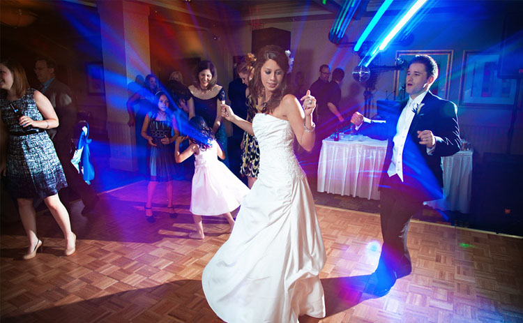 Amy Young wedding dance lessons in Bath and Bristol. Image of bride dancing on wedding day.
