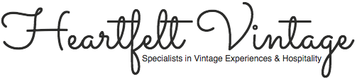 Heartfelt Vintage Logo. Friends with Amy Young Dance