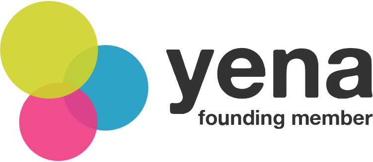 Yena Logo. Friends with Amy Young Dance